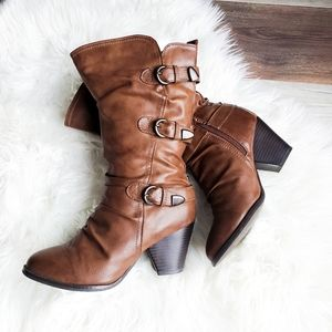 Call it spring studded boots